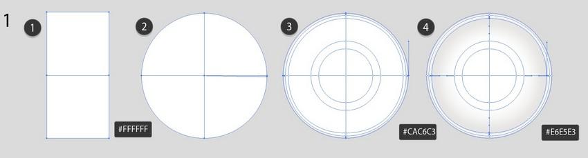 draw mesh circle