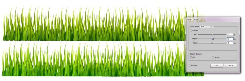 create grass
