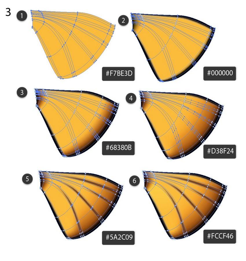 mesh butterfly