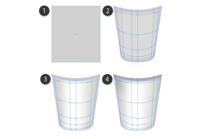 mesh cup