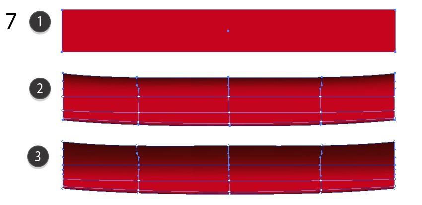red mesh carpet