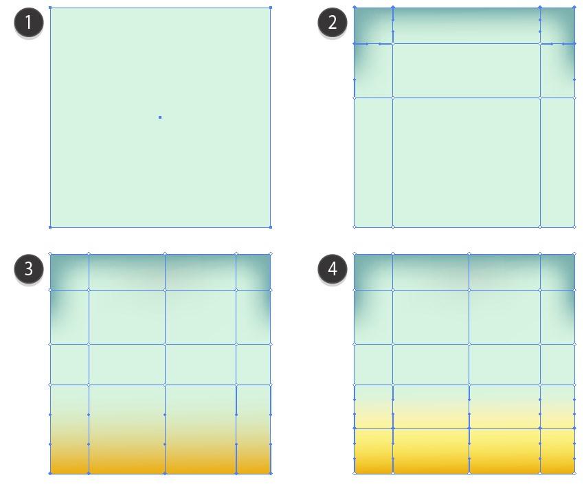 mesh adobe illustrator