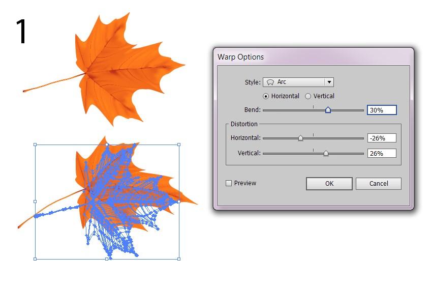 warp effects adobe illustrator