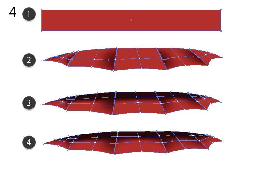 vector mesh umbrella tutorial