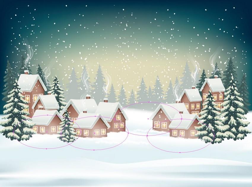 winter background design