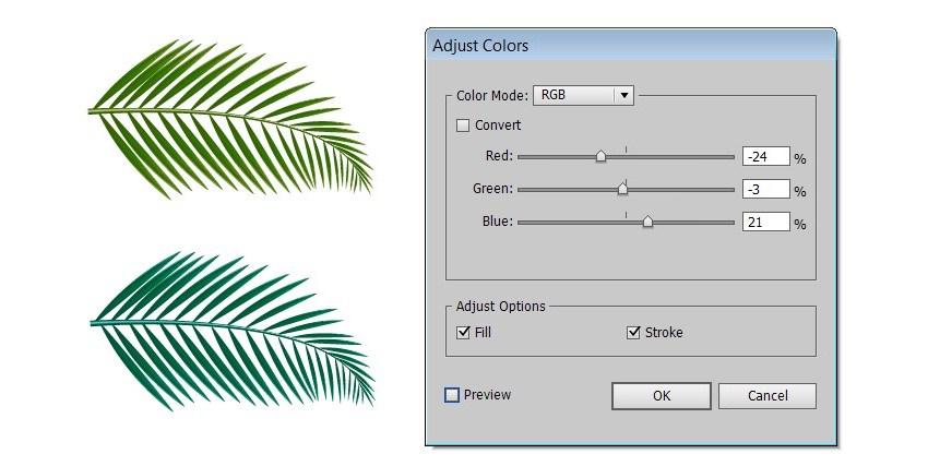 Tropical Party Flyer Template Edit Colors