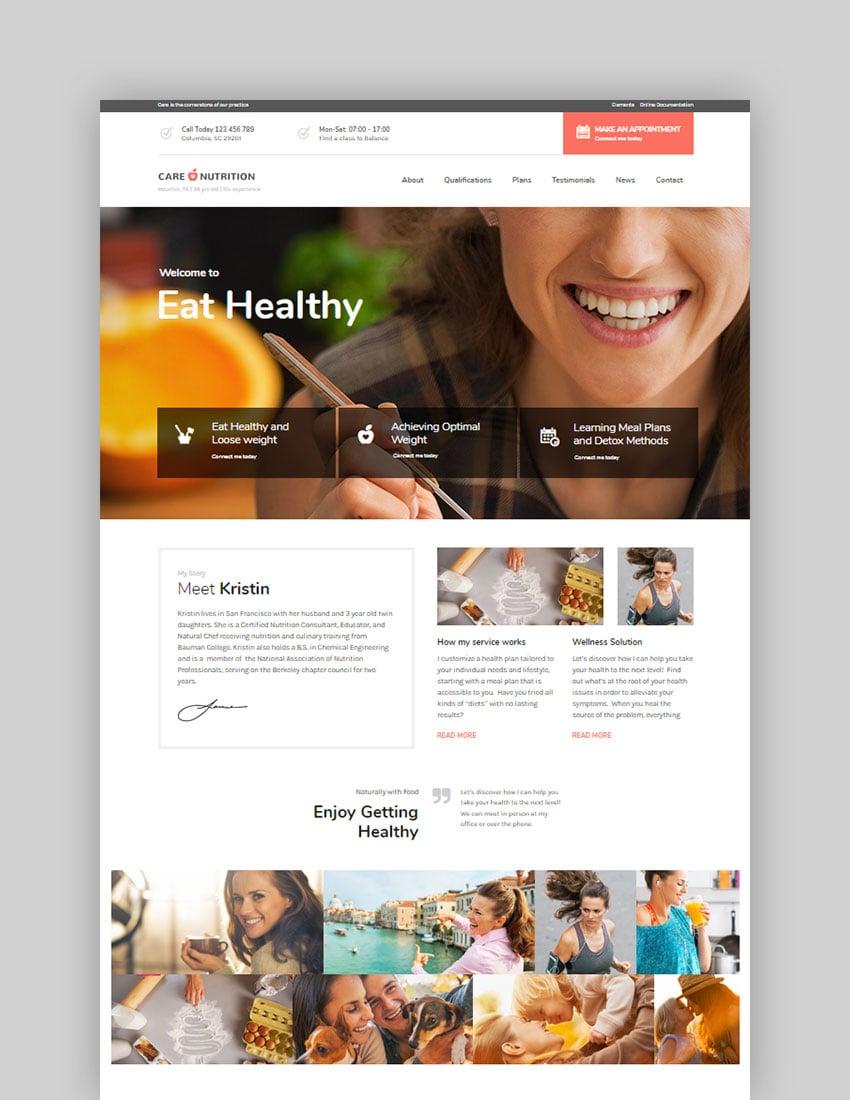 Care - Tema multinicho de WordPress para empresa online