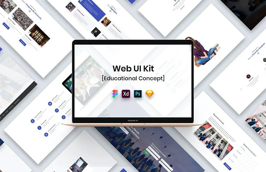 Educational Web UI Kit