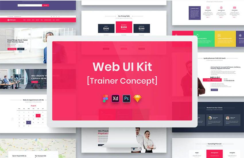 Trainer Web UI Kit
