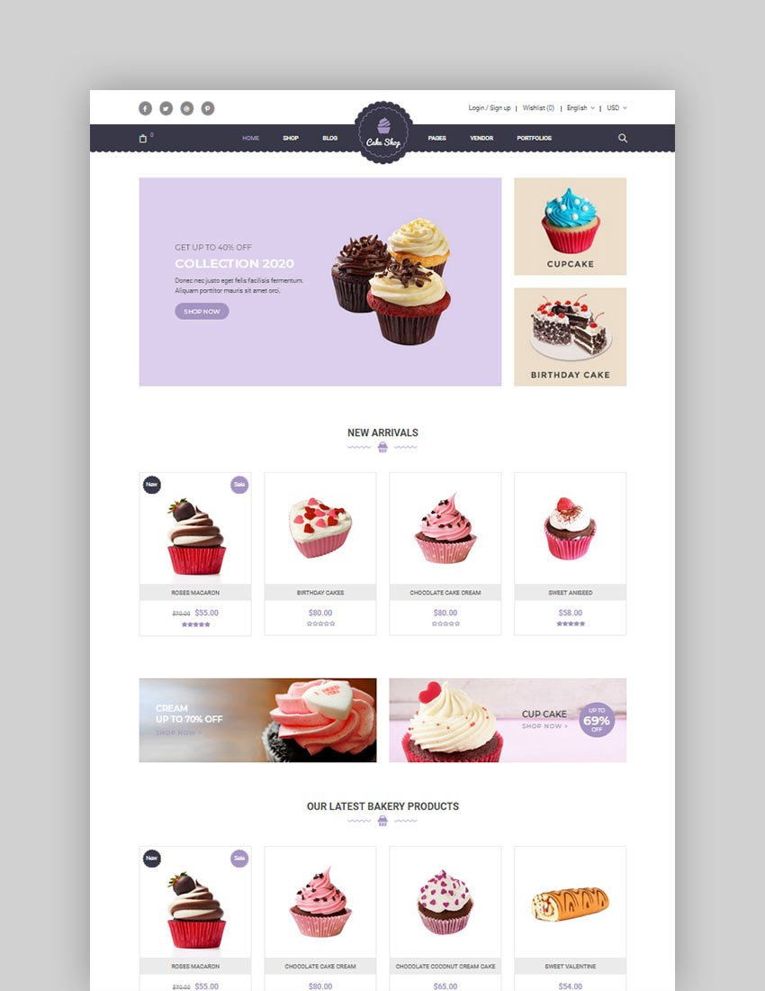 Food Store Organic Restaurant WooCommerce WordPress Theme