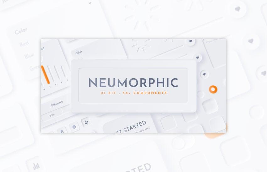 Neumorphic UI Kit - Neu