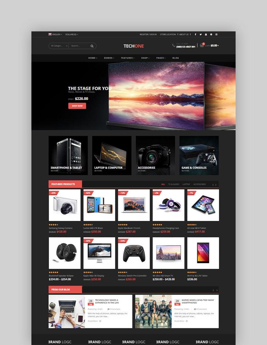 TechOne - Electronics Multipurpose WooCommerce Theme (RTL Supported)