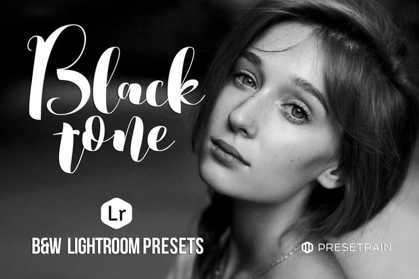 Blacktonw Black White Lightroom Presets- Envato Elements