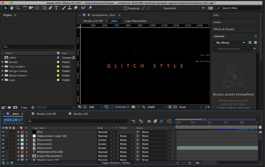 After Effects Intro