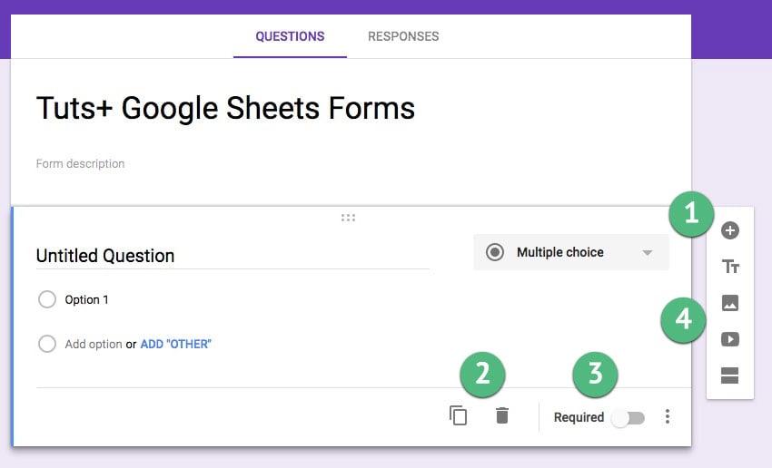 Tuts Google Sheets Forms Questions