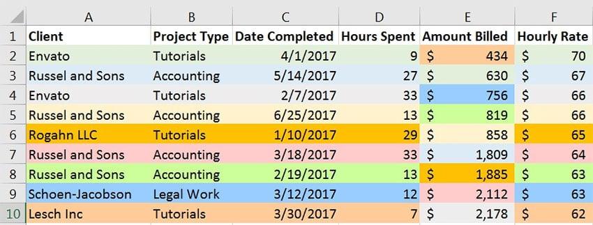 Bad sort in Excel