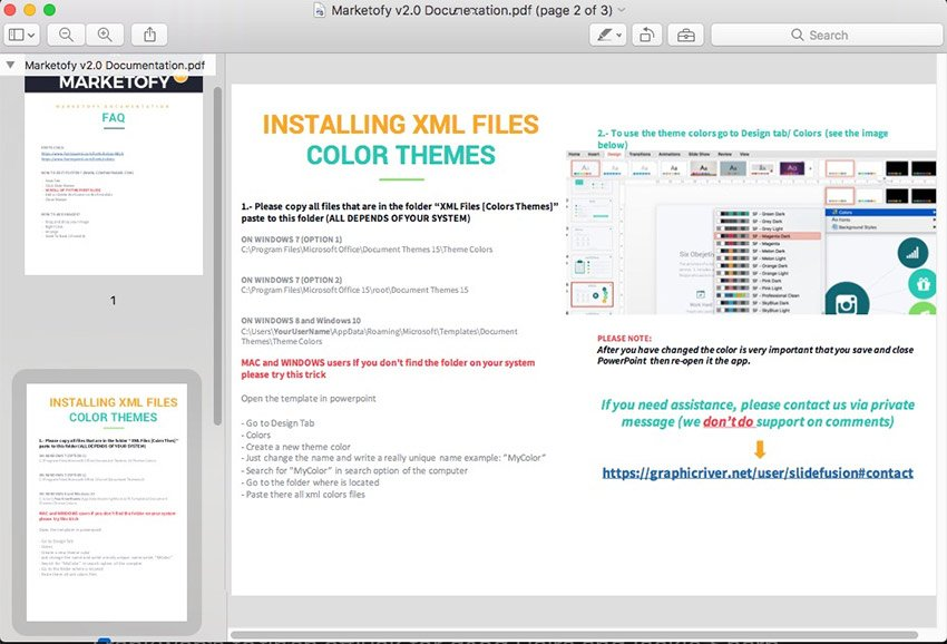 PowerPoint Theme Documentation