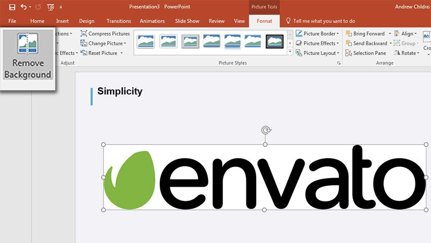Remove Picture Background in PowerPoint