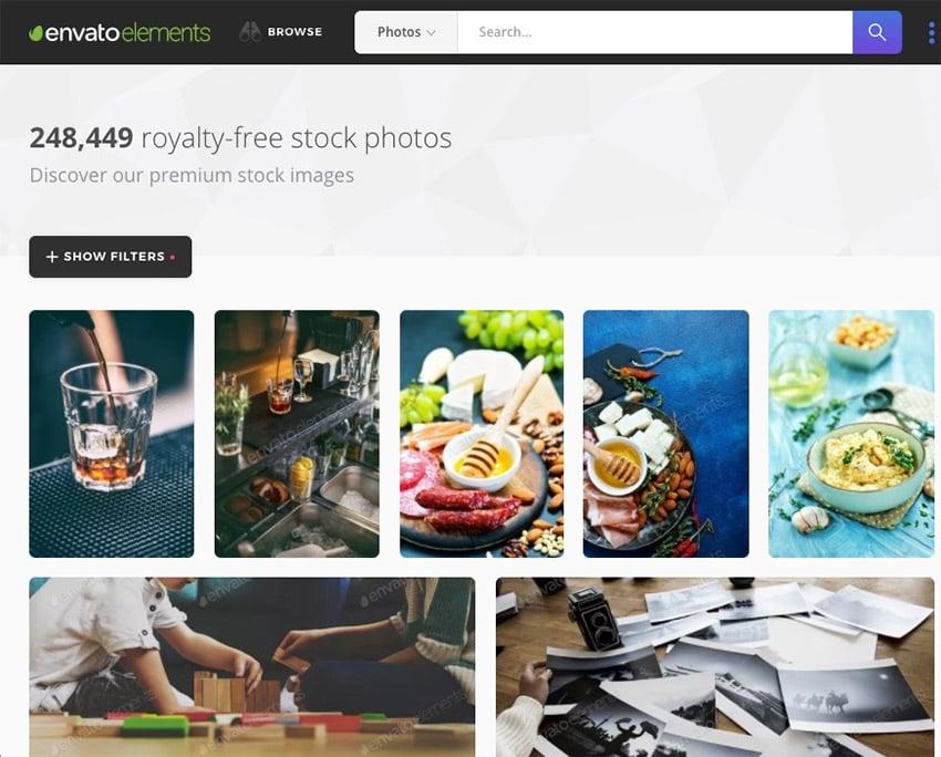 Elements royalty free stock photos
