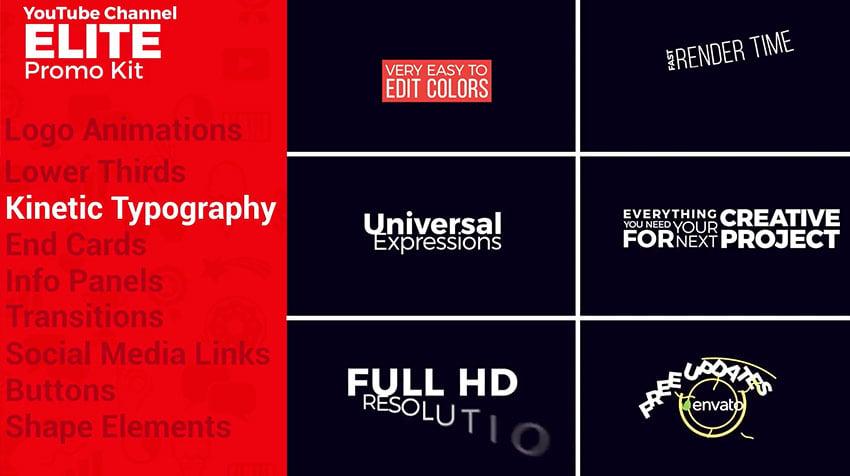 YouTube Elite Promo Kit