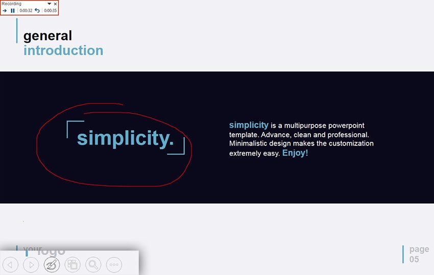 Annotation in PowerPoint