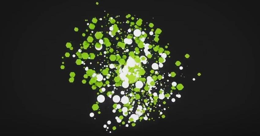 3D Particles Logo Reveal
