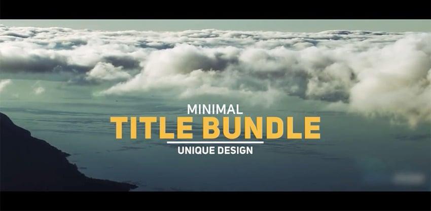 Minimal Modern Typography