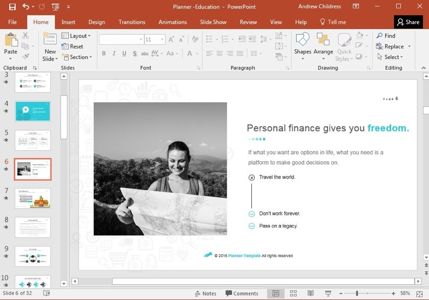 Personal Finance Slide