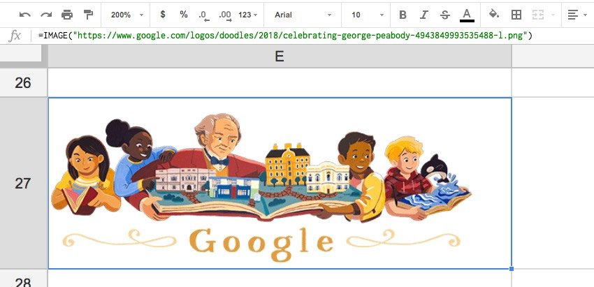 Google Doodle Example
