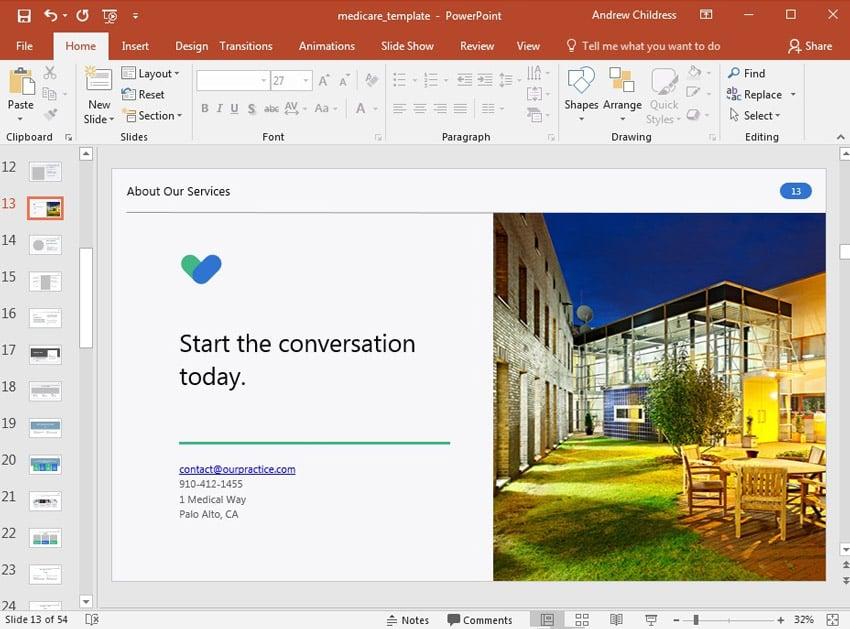 Slide 13 Design