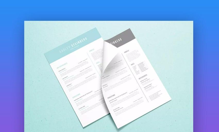 Minimalist Resume 05