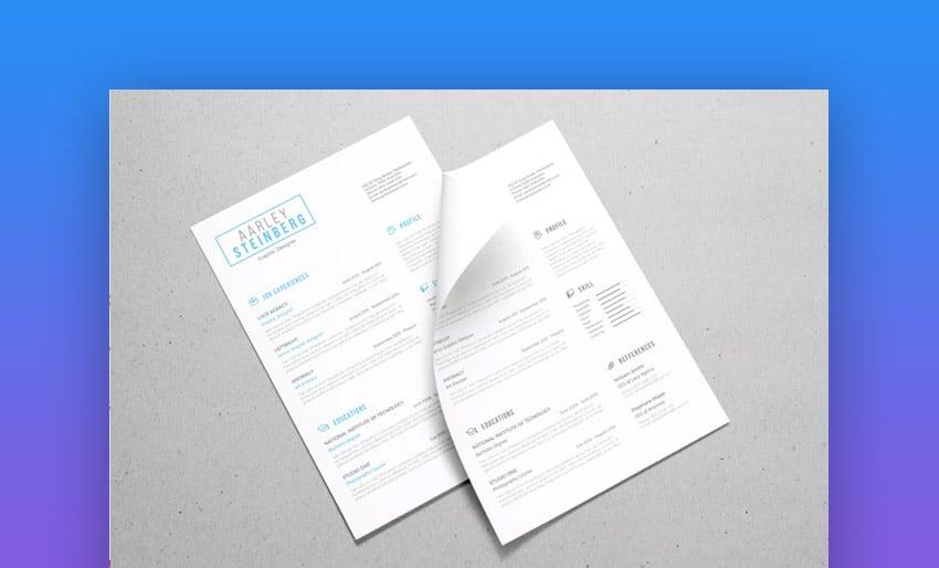Minimalist Resume 04