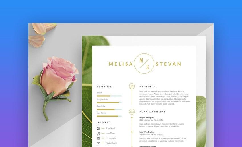 Melisa Creative and Minimalist