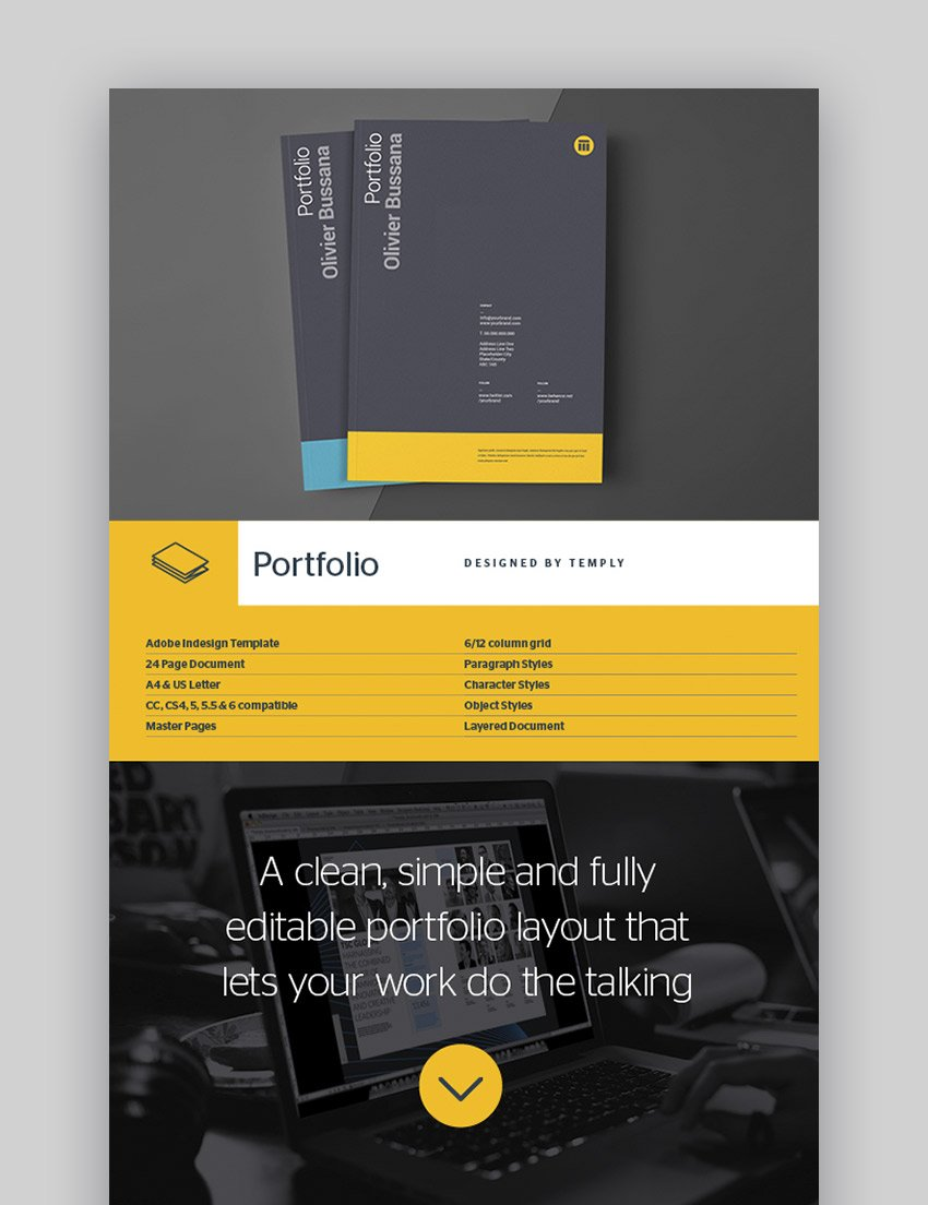 Portfolio Fully featured Resume Template