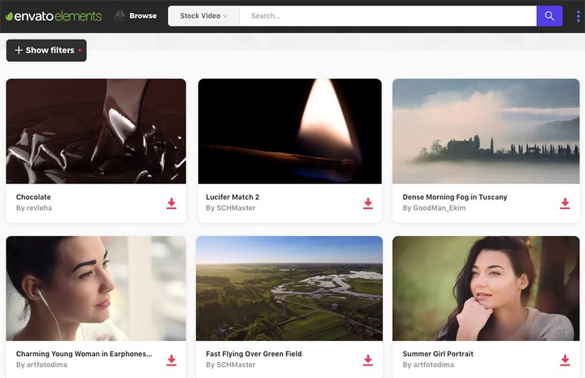 Elements Stock Footage