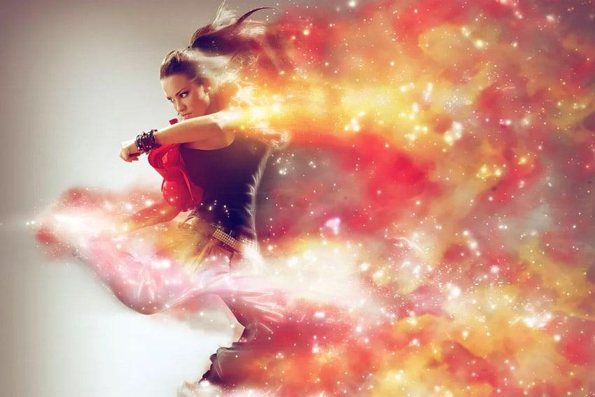 Cosmic Photoshop Action