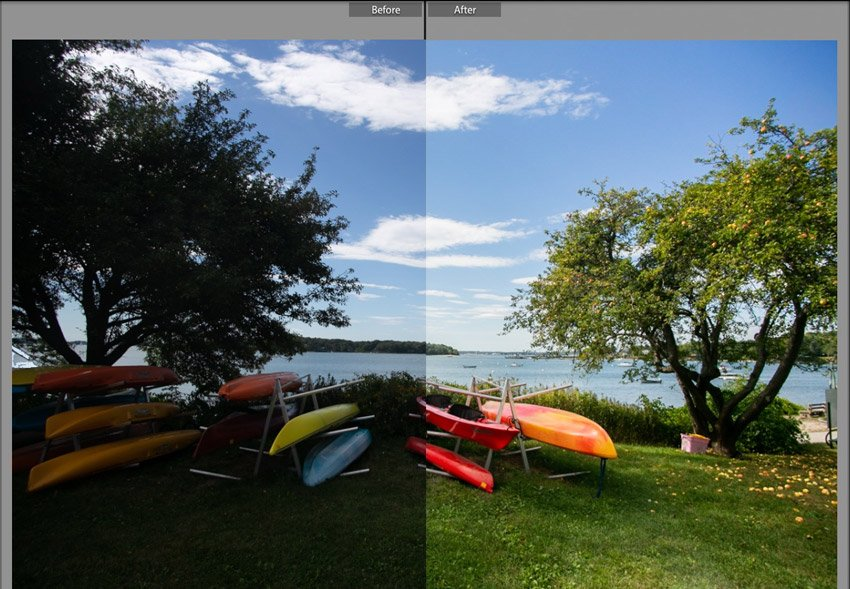 Neutral Image adjustment