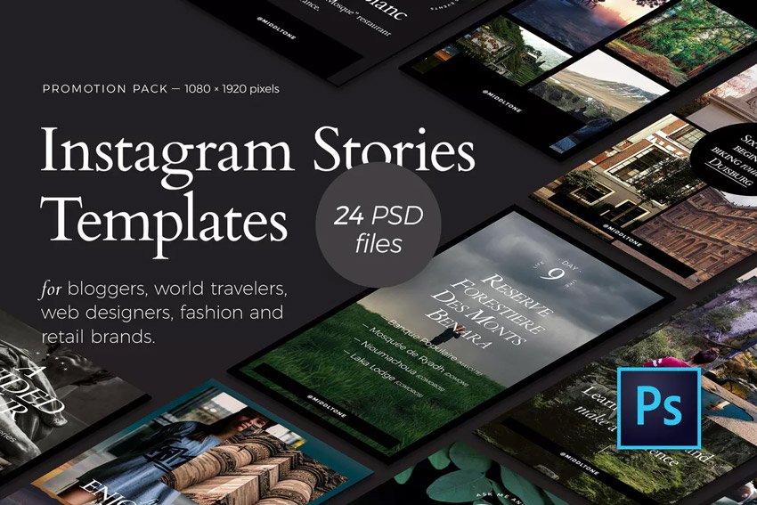 Lead in Instagram Stories Promotion