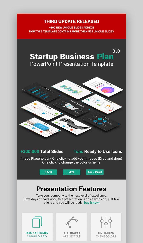 Startup Business Plan Slide Design