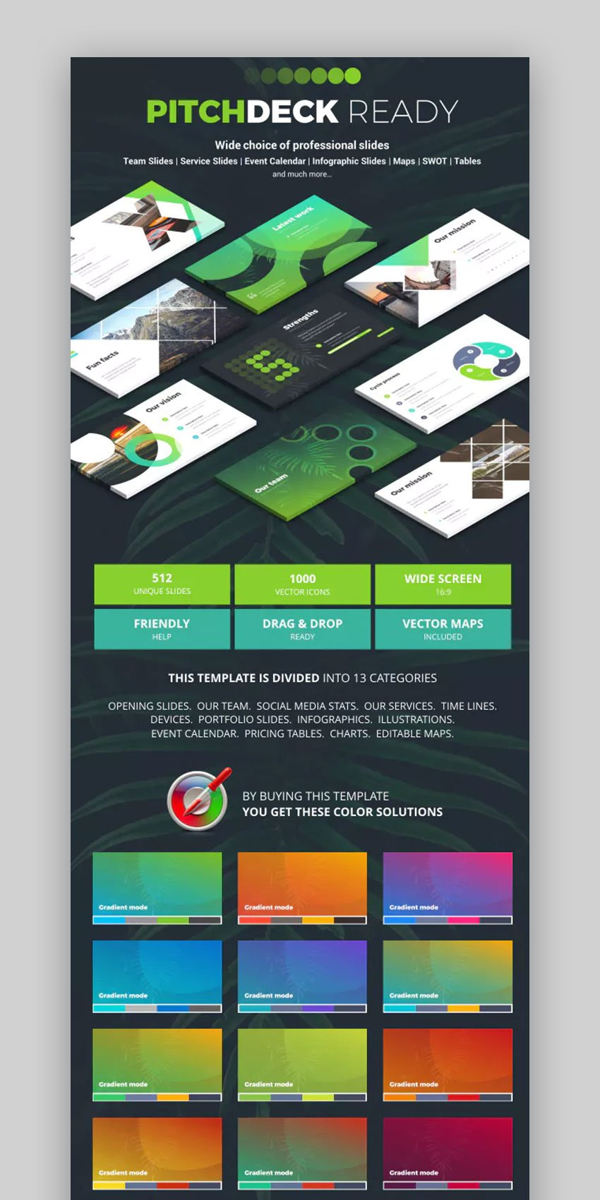 Pitch Deck Ready PowerPoint Template