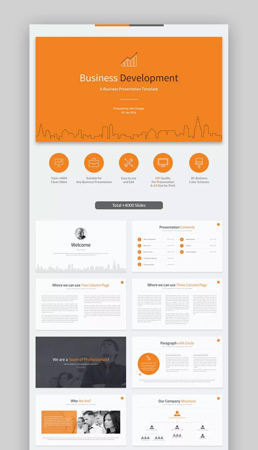 Business Development - Cooles Corporate Google Slides Template