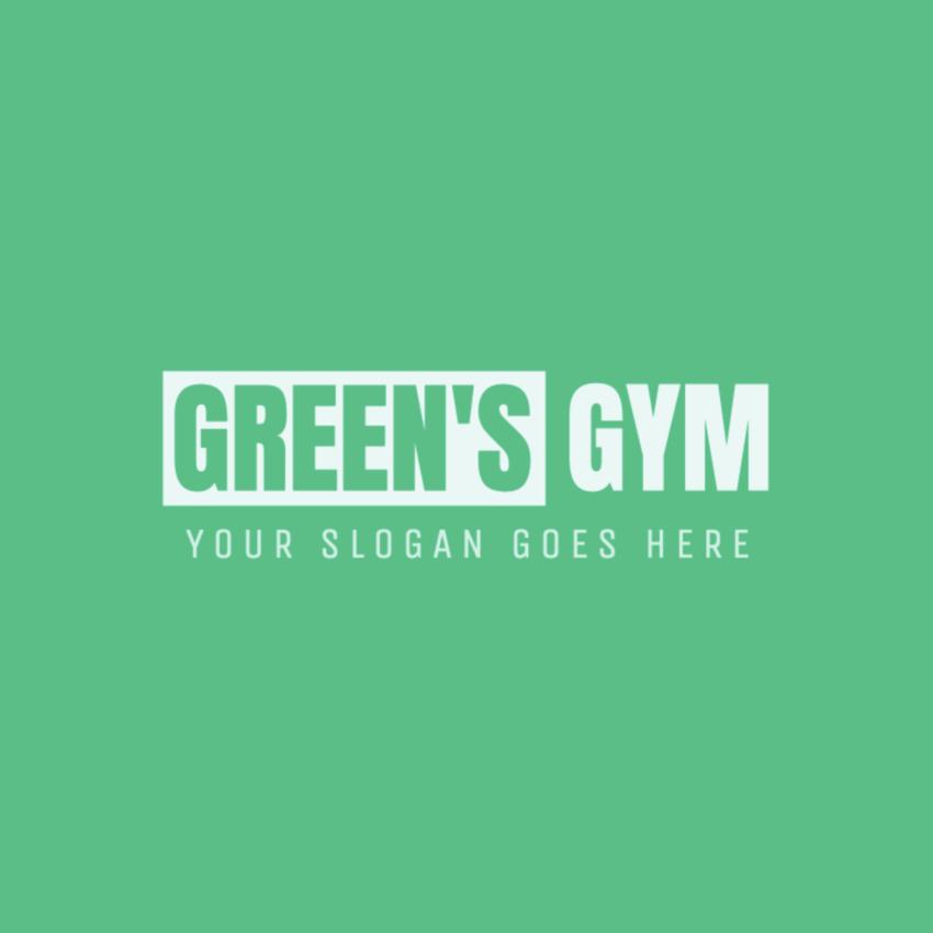 Minimalist Gym Logo Creator
