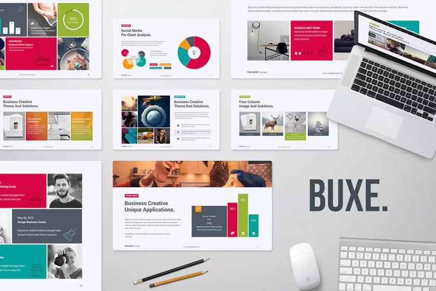 Buxe Creative PowerPoint Template