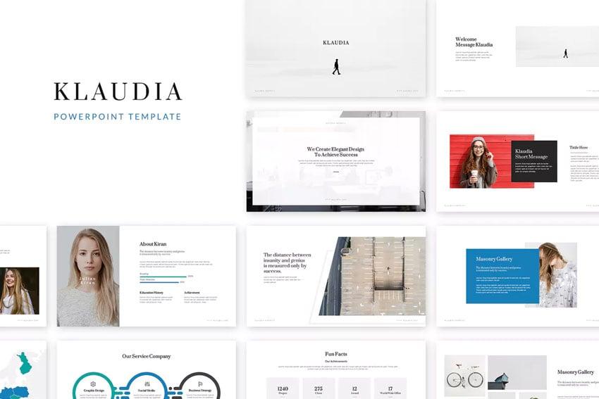 Klaudia PowerPoint Template