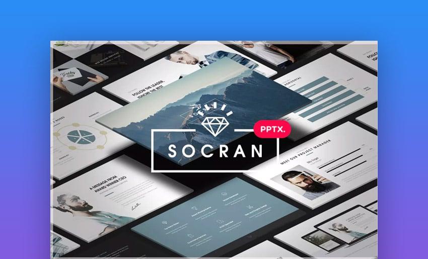 Socran PPTX Template