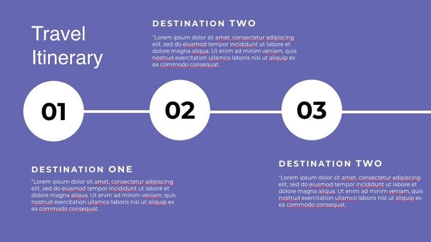 Travel Keynote template