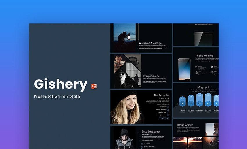 Gishery PowerPoint Template