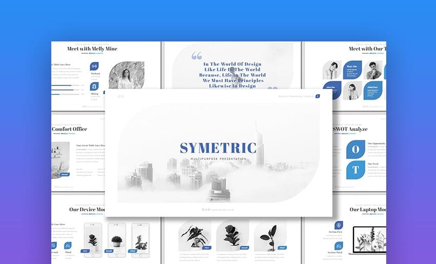 Symetric Keynote Template