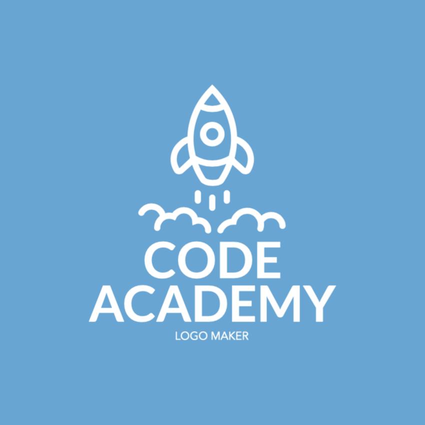 Start Up Logo Maker with Rocket Graphics