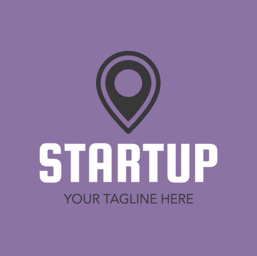 start up design logo maker